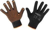 Перчатки NEO рабочие, хлопок и полиэстер, пунктир, размер 10 (97-620-10)