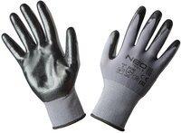 Перчатки NEO рабочие, нейлон с покрытием нитрил, размер 9