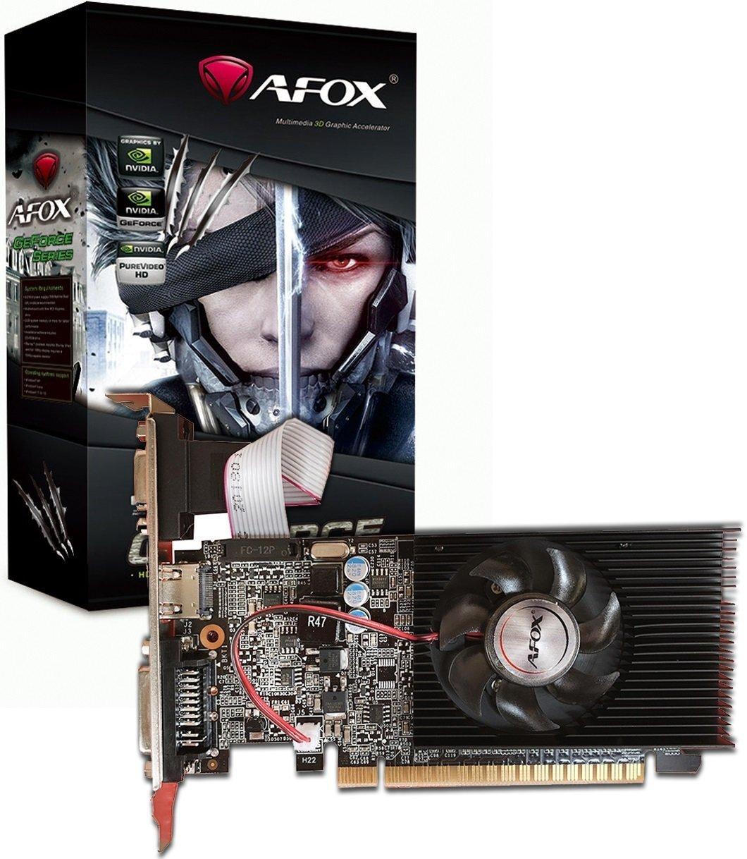 Відеокарта AFOX GeForce GT210 1GB DDR3 64Bit (AF210-1024D3L8)фото1