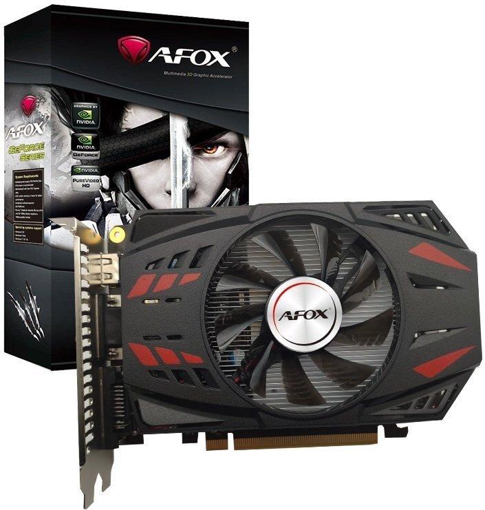Відеокарта AFOX GeForce GTX750Ti 2GB GDDR5 128Bit (AF750TI-2048D5H3-V2)фото1