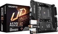 Материнська плата Gigabyte A520I AC sAM4