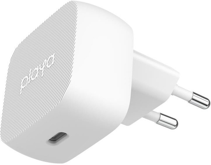 Сетевое ЗУ Playa by Belkin Home Charger 18W USB-C PD, white фото 1
