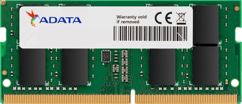 Пам'ять для ноутбука ADATA DDR4 2666 8GB SO-DIMM (AD4S266688G19-RGN)фото1