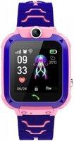 Детские GPS часы-телефон GOGPS ME K16S Розовые (K16SPK)