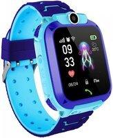 Детские GPS часы-телефон GOGPS ME K16S Синие (K16SBL)