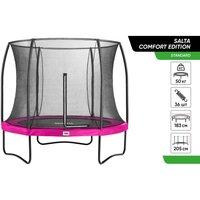 Батут Salta Comfort Edition круглий 183 см рожевий