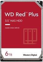 """Жесткий диск внутренний WD 3.5"""" SATA 3.0 6TB 5400 128MB Red Plus NAS (WD60EFZX)"""