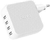 Мережевий зарядний пристрій Playa by Belkin Home Charger 40W 4хUSB White (PP0003VFC2-PBB)
