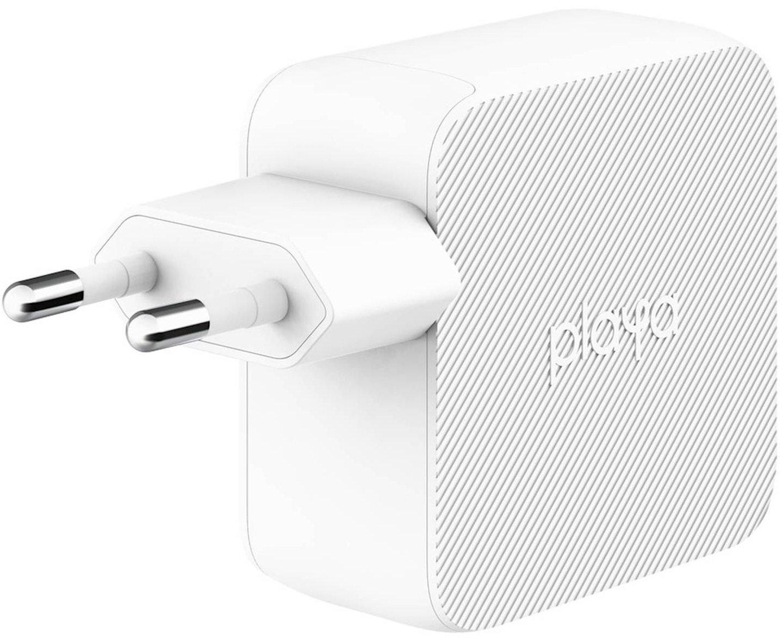 Мережевий зарядний пристрій Playa by Belkin Home Charger 12W DUAL USB White (PP0007VFC2-PBB)фото