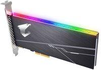SSD накопитель Gigabyte AIC AORUS 512GB NVMe PCIe 3.0 4x RGB (GP-ASACNE2512GTTDR)