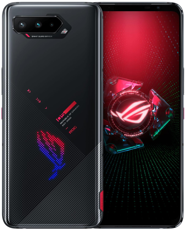 Смартфон Asus ROG Phone 5 12/256GB DS Black (ZS673KS-1A012EU) фото 1