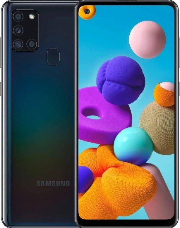 Смартфон Samsung Galaxy A21s 64Gb Black фото 1