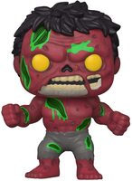 Коллекционная фигурка Funko POP! Bobble Marvel Marvel Zombies Red Hulk (FUN2549956)