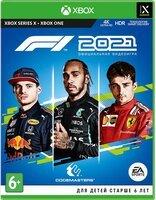 Игра F1 2021 (Xbox, Русские субтитры)