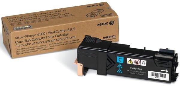 Картриджи к лазерной технике, Тонер-картридж лазерный Xerox PH6500/WC6505 Cyan, Max (106R01601)  - купить со скидкой