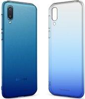 Чехол MakeFuture Galaxy A02 Gradient Clear TPU Blue (MCG-SA02BL)