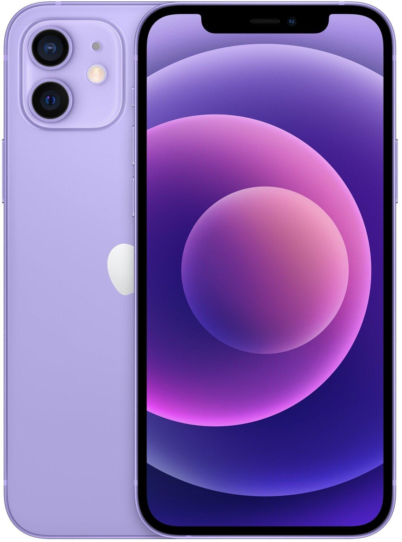 Смартфон Apple iPhone 12 64GB Purple (MJQF3) фото 1