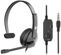 Гарнитура 2E CH12MJ Mono On-Ear 3.5mm/2*3.5mm