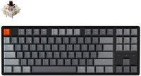 Клавиатура KEYCHRON K8 Aluminum Frame 87 keys, Gateron Brown, Hot-Swap, RGB, Black (K8J3_KEYCHRON)