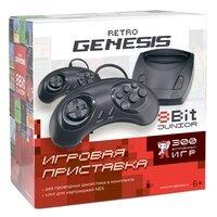 Игровая консоль Retro Genesis 8 Bit Junior (300 игр, 2 проводных джойстика) (ConSkDn84)