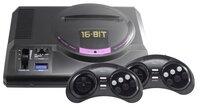 Игровая консоль Retro Genesis 16 bit HD Ultra (150 игр, 2 беспроводных джойстика) (ConSkDn70)