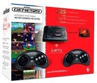 Игровая консоль Retro Genesis 16 bit HD Ultra (225 игр, 2 беспроводных джойстика) (ConSkDn73)