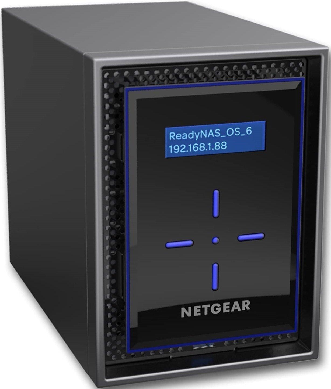 Мережеве сховище NETGEAR ReadyNAS RN422 disklessфото