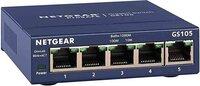 Коммутатор NETGEAR GS105GE 5xGE, неуправляемый