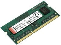Пам'ять для ноутбука Kingston DDR3 1600 4GB SO-DIMM 1.35V (KVR16LS11/4WP)