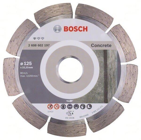 bosch Алмазный диск Bosch Standard for Concrete 125-22.23, по бетону 2608602197