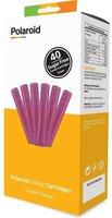 Набор картриджей для 3D ручки Polaroid Candy pen, виноград, фиолетовый ( 40 шт)
