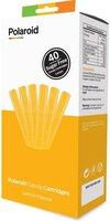 Набір картриджів для 3D ручки Polaroid Candy pen, лимон, жовтий (40шт)