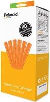 Набор картриджей для 3D ручки Polaroid Candy pen, апельсин, оранжевый (40 шт)