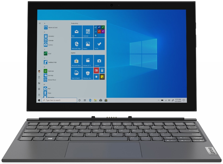 "Планшет Lenovo IdeaPad Duet 3 10.3"" LTE 4/64Gb Win10P Grey фото"