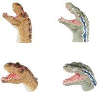 Игровой набор Same Toy Пальчиковый театр 2 ед, Тиранозавр и Велоцираптор X236Ut-1