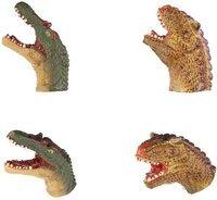 Игровой набор Same Toy Пальчиковый театр 2 ед, Спинозавр и Карнотавр X236Ut-5