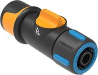 """Коннектор для шланга 13-15 мм (1 / 2-5 / 8 """") с механизмом включения / выключения Watering Fiskars"""