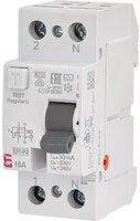 Реле дифференциальное ETI (УЗО) 2р EFI6-P2 16/0,03 тип AC (6kA)