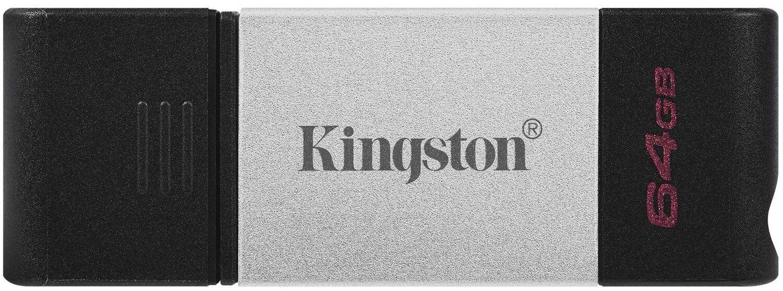Накопитель Kingston DT80 USB-C 3.2 64GB (DT80/64GB)фото1