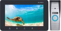 Комплект видеодомофона Slinex SM-07M Grafit + Панель Slinex ML-15HR Grey
