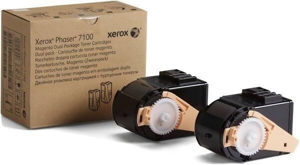 Купить Картриджи к лазерной технике, Тонер-картридж лазерный Xerox PH7100 Magenta, Max (106R02610)