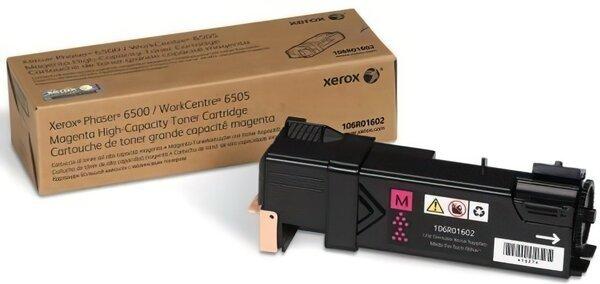 Купить Картриджи к лазерной технике, Тонер-картридж лазерный Xerox PH6500/WC6505 Magenta, Max (106R01602)