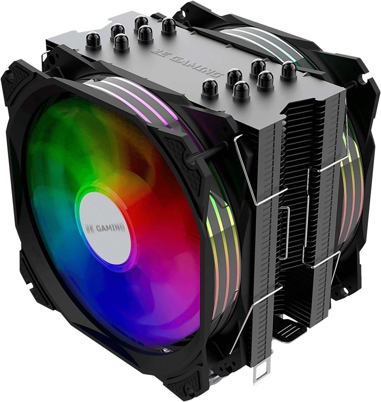 Процесорний кулер 2E GAMING AIR COOL (AC120D6) (2E-AC120D6-ARGB)фото
