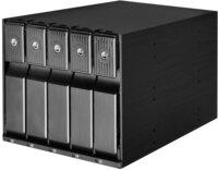 """Корпус 5,25"""" для 5xSATA 3.5"""" HDD (SST-FS305-12G)"""