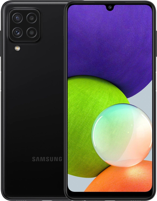 Смартфон Samsung Galaxy A22 4/64Gb Black фото 1