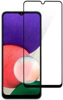 Защитное стекло 2E для Galaxy A22 (A225) 2.5D FCFG Black border (2E-G-A22-SMFCFG-BB)