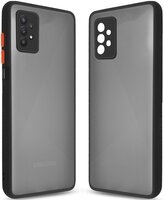 Чехол MakeFuture для Galaxy A32 Frame Matte PC+TPU Black (MCMF-SA32BK)