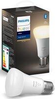 Умная лампа Philips Hue Single Bulb E27, 9W(60Вт), 2700K, White, Bluetooth, димируемая