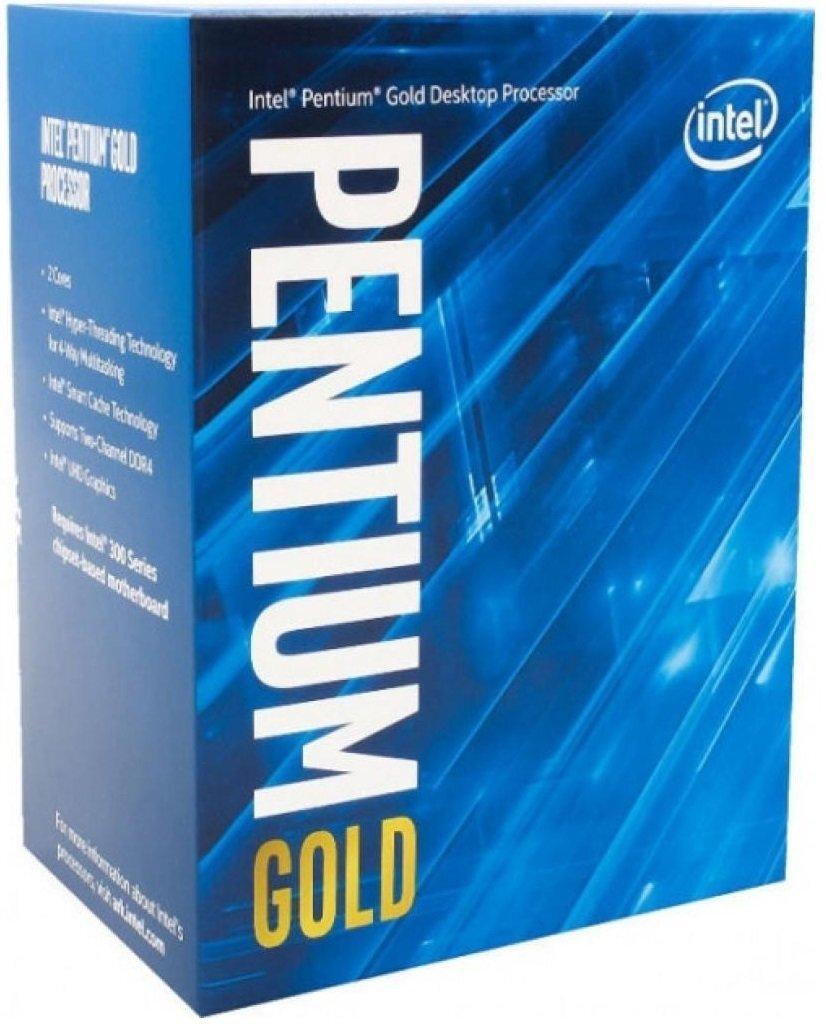 ЦПУ Intel Pentium Gold G6605 2/4 4.3GHz 4M LGA1200 58W boxфото