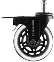 Комплект колес 2Е Gaming CONTROL 76 мм (5 шт) Clear